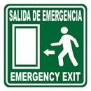 Se alamientos de proteccion civil for Precio de puertas salida de emergencia